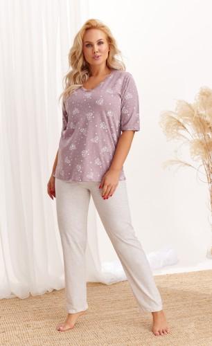 Pižama Taro 2465 2XL-4XL