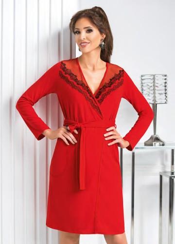 Chalatas Donna Jasmine red